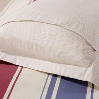 AVIVI 艾薇 纯棉斜纹印花枕头套 彩云阁 48*74cm 一对装
