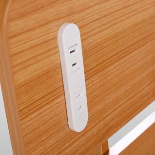 依丽兰板式床 现代简约设计 1.8米双人床 气动高箱床收纳床