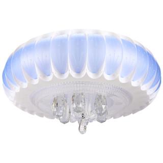 FSL 佛山照明 LED水晶吸顶灯 花形 雅蓝色 24W