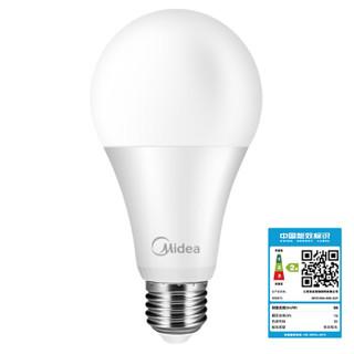 Midea 美的 LED球泡 E27螺口 暖白色 15W