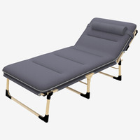 双鑫达 折叠床 躺椅 午休床 陪护床 加宽至68厘米 含棉垫 B-16