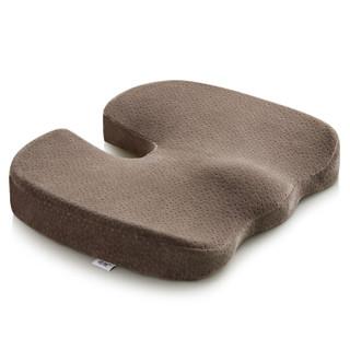 佳奥 乳胶坐垫 学生办公休闲椅子垫 咖啡色