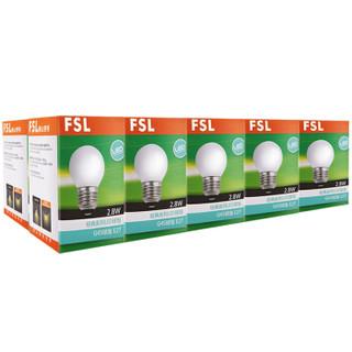 FSL 佛山照明 LED球泡 E27大口 白光  2.8W*10支