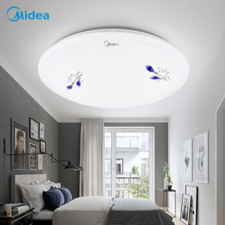 Midea 美的 LED吸顶灯 圆形百合 12W