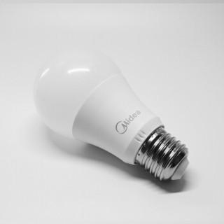 Midea 美的 LED球泡 E27螺口 日光色 9W