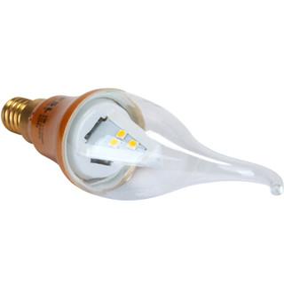 FSL 佛山照明 LED蜡尾泡 E14小口 日光炫金 3W