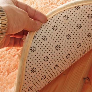 FOOJO 富居 拼块地毯 水粉色 40*40cm