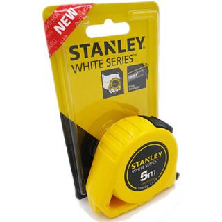 STANLEY 史丹利 STHT30123 White Series公制易钩卷尺5M