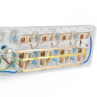 HONYAR 鸿雁  ZDT811-18 8位全长1.8米插线板