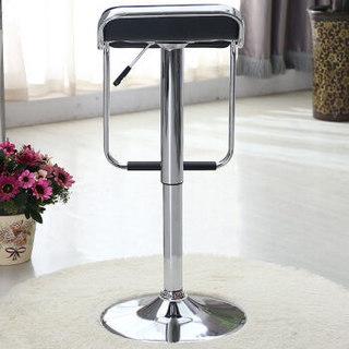 华恺之星 吧台椅凳子 餐椅子酒吧椅吧凳 可升降高脚椅凳 HK105黑色