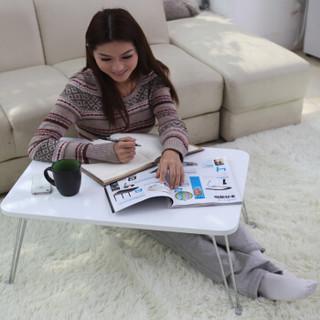施豪特斯(SHTS)电脑桌 超大桌面笔记本桌茶几床上电脑桌CJ-01 白色