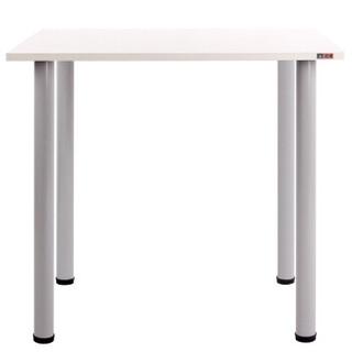 尼德(need) 多功能简约台式电脑桌子 学生宿舍寝室专用 AC2DS(80*60) E1级环保健康 暖白面灰腿