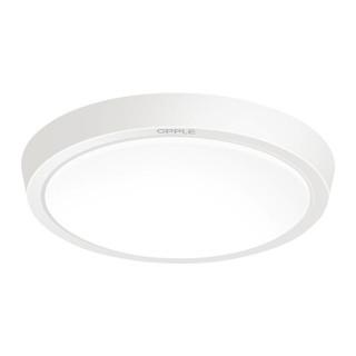 OPPLE 欧普照明 LED吸顶灯 圆形磨砂灯罩  白光 23cm 12W
