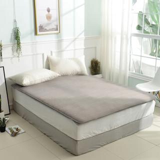 佳佰 床垫 床褥 褥子 床护垫 榻榻米 加厚防滑耐脏灰色网眼 (背面防滑)150*200cm