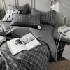 九洲鹿 套件家纺 全棉床上用品斜纹印花单人学生三件套 床单被套 格调 1.2米床 150*200cm