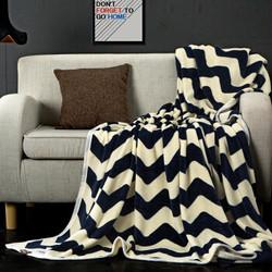 九洲鹿 毛毯家纺 加厚云貂绒毯 法兰绒毯子床单 水晶绒午睡空调毯毛巾被珊瑚绒盖毯 多彩 100*140cm