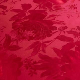 FUANNA 富安娜 婚庆提花四套件 喜结连理 红 230*229cm