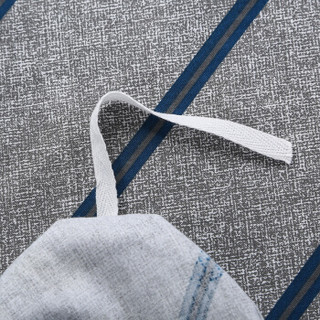 九洲鹿 全棉斜纹印花四件套 风尚流年 1.8米床