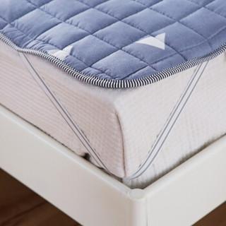 九洲鹿 床垫家纺 软垫舒适透气床垫四季保护垫 休闲床垫子 床褥子 思绪 1.8米床 180*200cm