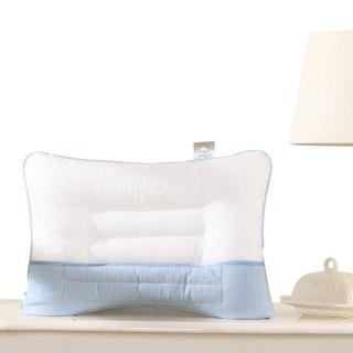 水星家纺(MERCURY) 儿童枕头枕芯单人学生枕 儿童护肩决明子枕 35*50cm