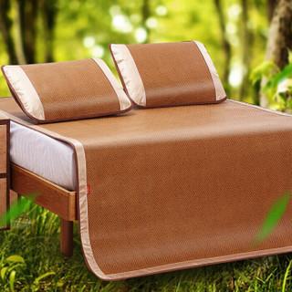 九洲鹿 密藤席三件套 饼干花 1.8米床