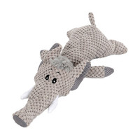 华元宠具(hoopet)狗狗玩具磨牙耐咬大象发声毛绒互动宠物猫玩具