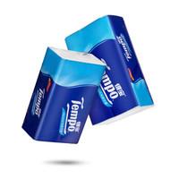得宝(Tempo) 抽纸 加厚4层90抽面巾纸*(3+1)包纸巾 天然无香 *5件
