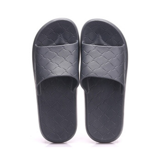 Hömmy 佳佰 HM1587 情侣浴室拖鞋 男款 碳灰 40-41