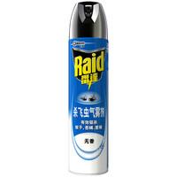 Raid 雷达蚊香 杀飞虫气雾剂 无香型 600ml
