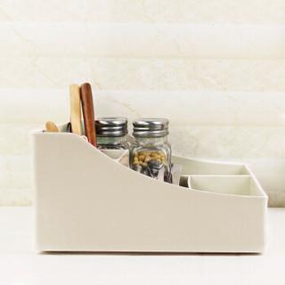 晟旎尚品 化妆品收纳盒 首饰盒 桌面收纳盒 办公简约塑料收纳盒