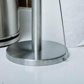 欧润哲 不锈钢纸巾架 厨房纸巾卷纸收纳架卫生间厕纸架