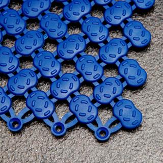 欧润哲 疏水垫 加厚浴室疏水自由拼接可剪裁地毯 卫生间镂空隔水垫 9片装