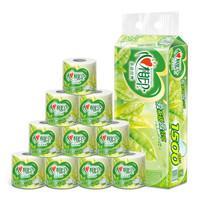 心相印卷纸 茶语系列卫生纸巾4层150g*10卷筒纸厕纸(提装销售) *6件 +凑单品