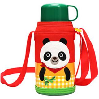 LOCK&LOCK 乐扣乐扣 LHC1435PDA 儿童保温杯 550ml 大熊猫图案