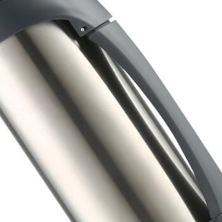 哈尔斯(HAERS)保温壶户外旅行壶2L 不锈钢真空保温瓶暖瓶车载运动水壶 本色