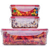 LOCK&LOCK 乐扣乐扣 比得兔系列 塑料保鲜盒 3件套 *3件 45.5元(合15.17元/件)