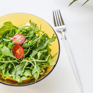 DURALEX/多莱斯 餐具玻璃碗泡面碗 微波炉适用米饭碗 法国进口 两只装琥珀色 910ML