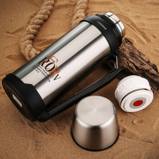 富光 BJ001-1800 不锈钢保温壶 本色 1.8L