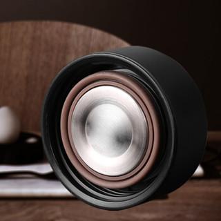 富光 WFZ1063-480 不锈钢保温杯 黑色 480ml
