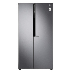 LG GR-B2474JDR 对开门冰箱 628L