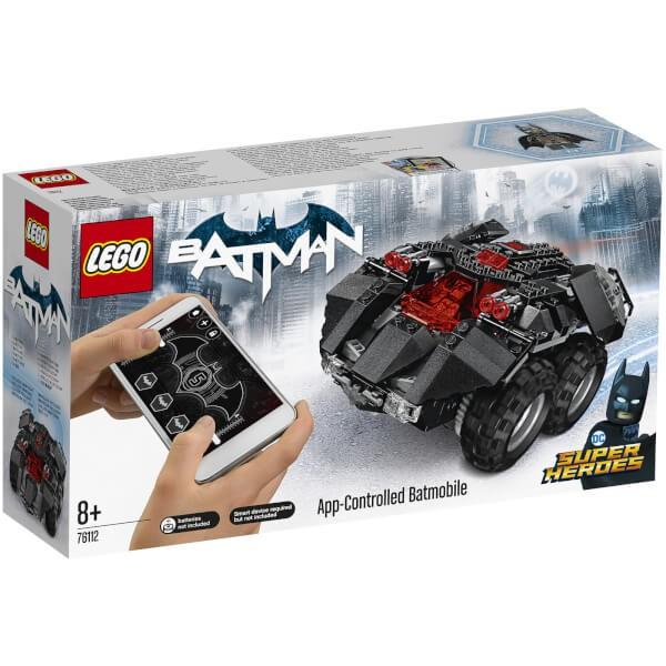 LEGO 乐高 超级英雄系列 76112 APP遥控蝙蝠车