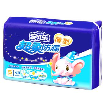 Anerle 安儿乐 婴儿纸尿片 (S号、44片)