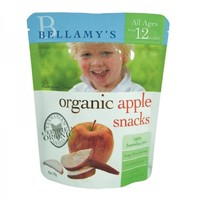 Bellamy's 贝拉米 有机苹果干水果干 宝宝零食 1岁以上 20g