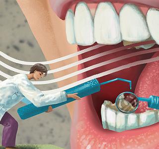 《体面》No.3:冲牙器代替洗牙? 它连牙刷也无法代替!