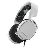 steelseries 赛睿 Arctis 寒冰 3 7.1音效 游戏耳机 白色