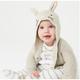 GAP 盖璞 婴幼儿 兔耳连帽针织衫