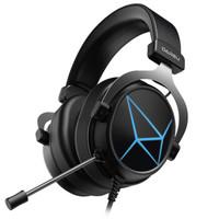 Dareu 达尔优 EH722 升级版 游戏耳机 黑银色