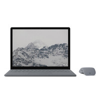 Microsoft 微软  Surface laptop 13.5英寸笔记本电脑 (i5-7300U、8GB、256GB、亮铂金)