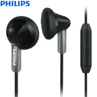 PHILIPS 飞利浦 SHE3015 耳塞式耳机 黑色