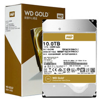 WD 西部数据 WD101VRYZ 金盘 SATA 企业硬盘 10TB